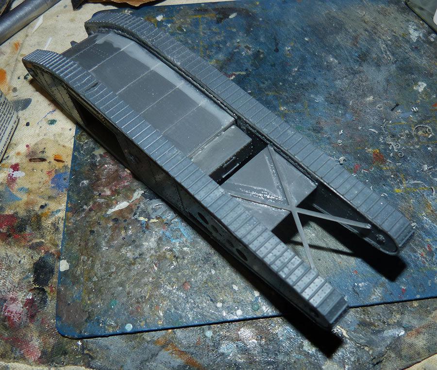 """From the box - Char Mk IV """"Tadpole"""" - Emhar - 1/72 *** Terminé en pg 2 201213073229868946"""