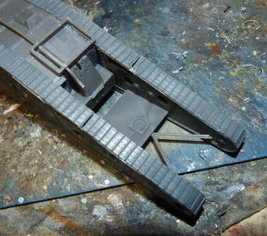 """From the box - Char Mk IV """"Tadpole"""" - Emhar - 1/72 *** Terminé en pg 2 201213073230126731"""