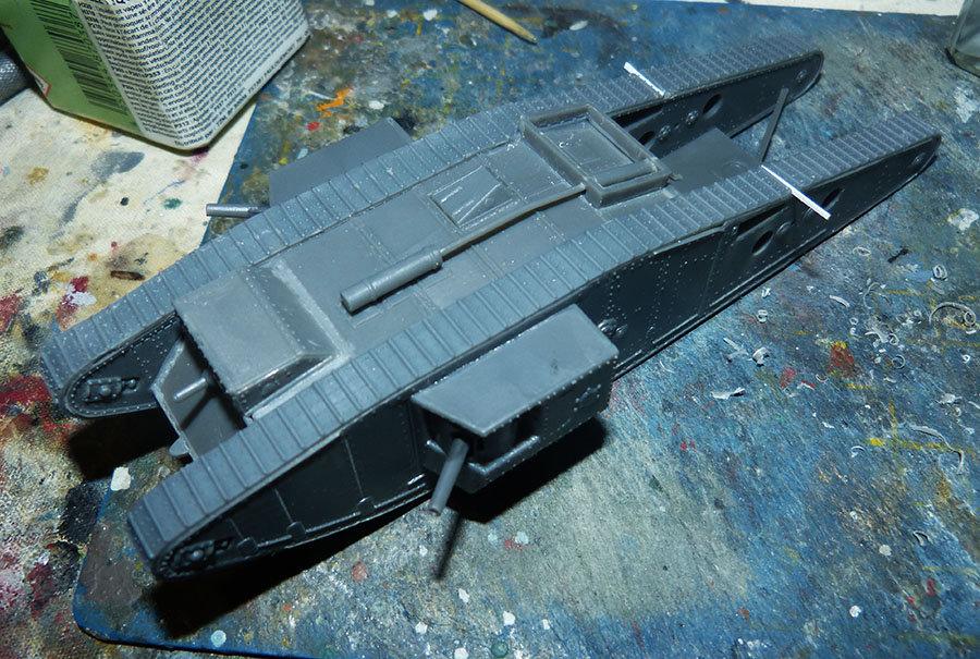 """From the box - Char Mk IV """"Tadpole"""" - Emhar - 1/72 *** Terminé en pg 2 201213073230641209"""