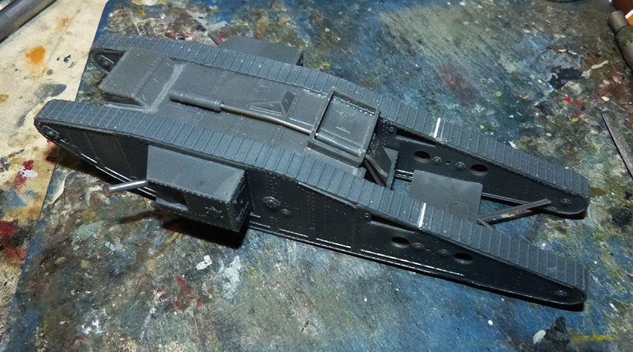 """From the box - Char Mk IV """"Tadpole"""" - Emhar - 1/72 *** Terminé en pg 2 201213073231449023"""