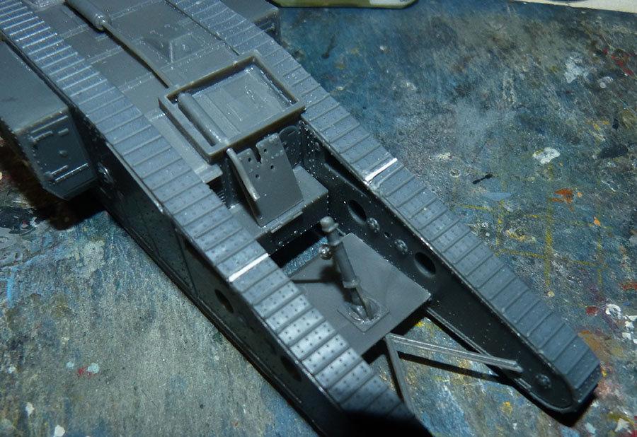"""From the box - Char Mk IV """"Tadpole"""" - Emhar - 1/72 *** Terminé en pg 2 201213074030242365"""