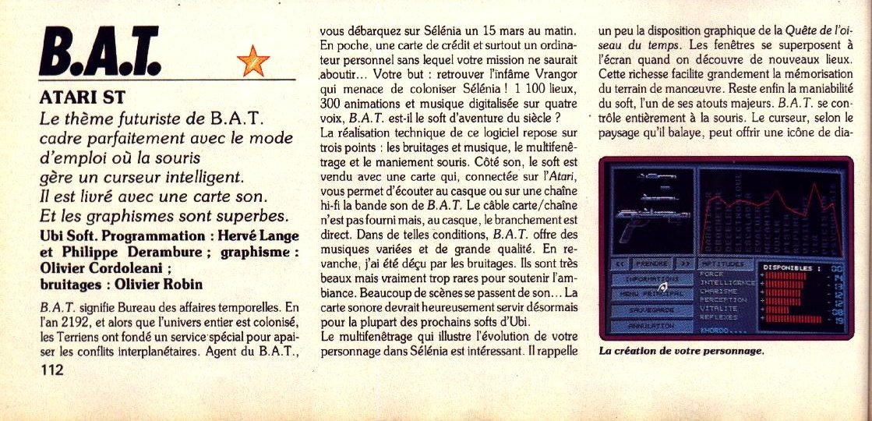 [TEST] B.A.T. - Atari ST 201215090807801361