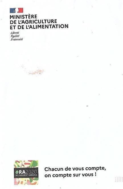 Enquête  Le recensement agricole démarre ce 1er octobre 2020 - Page 3 201216063003248553