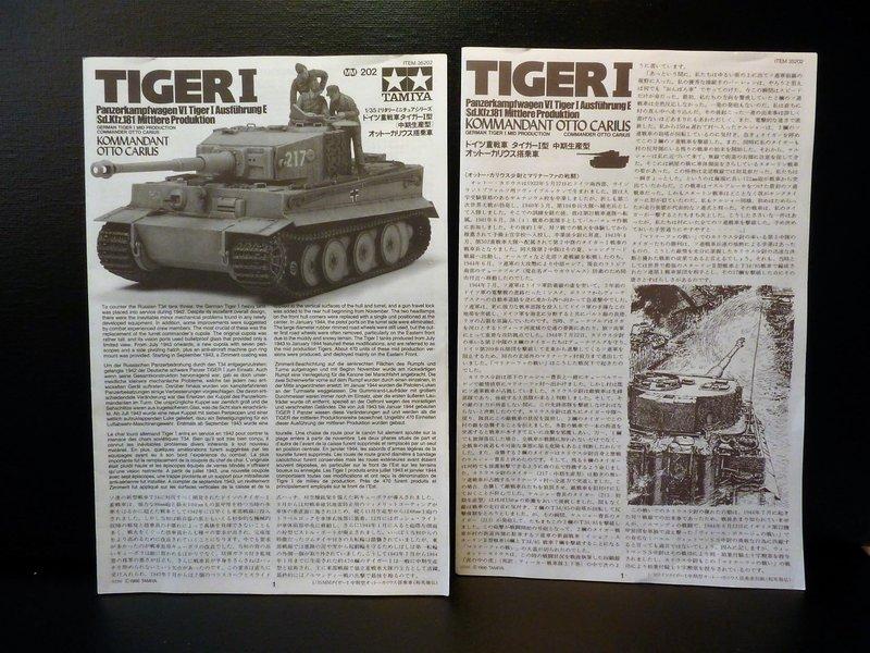 """"""" Quoi de neuf à l'Est """"   Tigre 1 """" mid production """"  TAMIYA 1/35 ème 201217085123136484"""