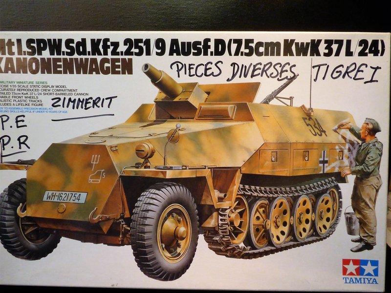 """"""" Quoi de neuf à l'Est """"   Tigre 1 """" mid production """"  TAMIYA 1/35 ème 201217090424103107"""