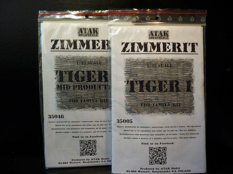 """"""" Quoi de neuf à l'Est """"   Tigre 1 """" mid production """"  TAMIYA 1/35 ème 201217090434709159"""