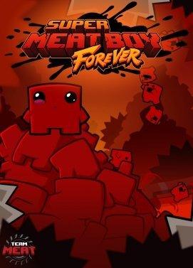 Poster for Super Meat Boy Forever