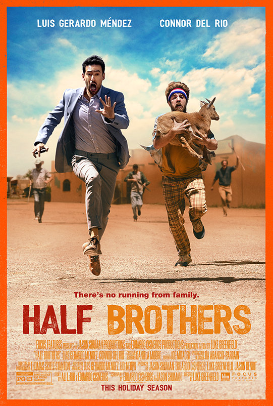 Half Brothers (2020) poster image
