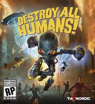 Poster for Destroy All Humans