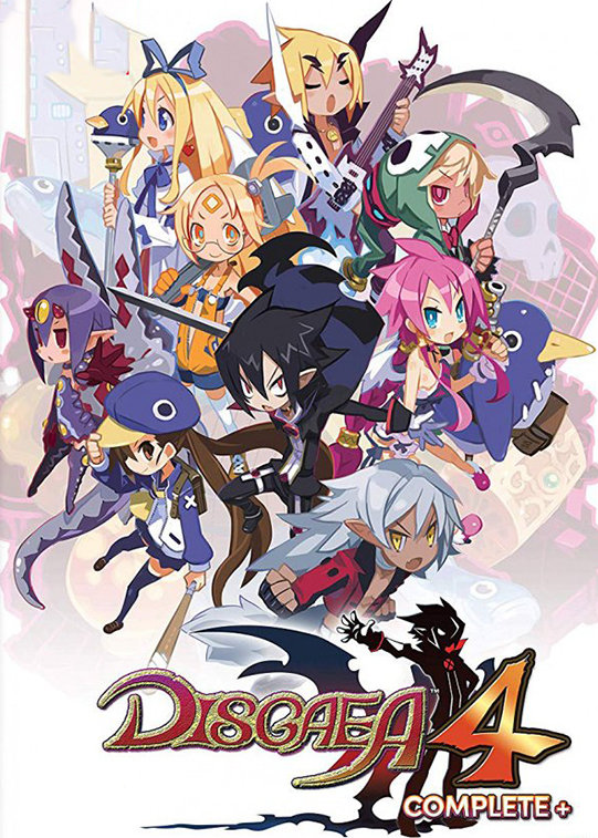 Poster for Disgaea 4 Complete Plus