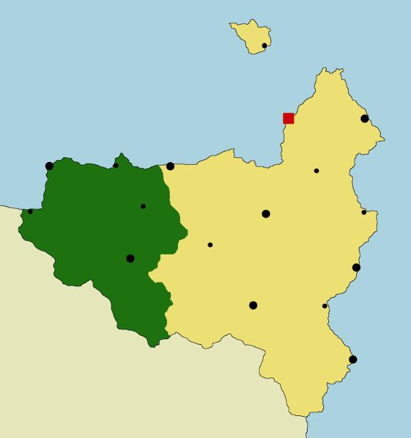 Carte des religions de Varanya