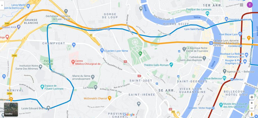 tunnel GDL - Cordeliers ET desserte plateau Ouest