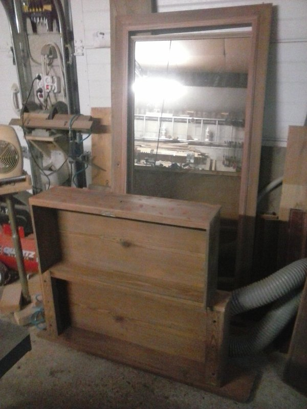 Recyclage vieille armoire à glace 201227010530434541
