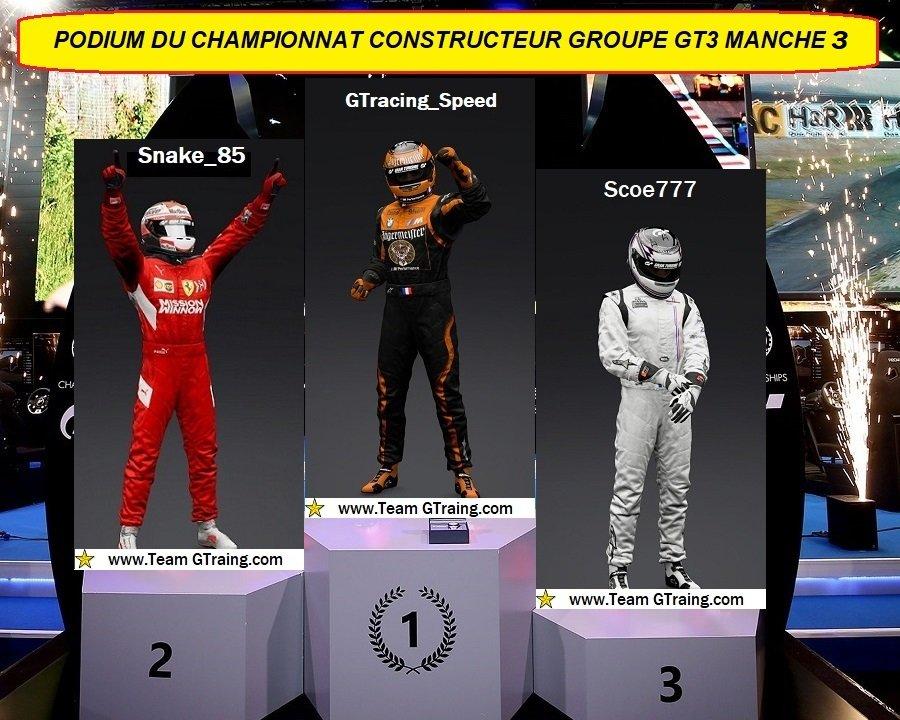 Résultat Manche 3 Championnat Constructeur Groupe GT3 - 23/12/2020 201227060016513360