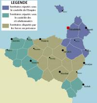 Carte situationnelle et politique du Varanya