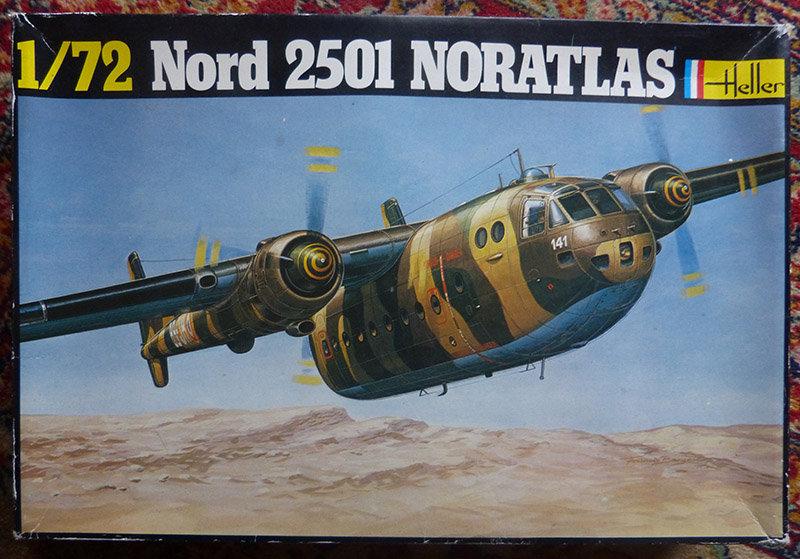 """Fil rouge 2021 * Nord 2501 Noratlas """"Djibouti"""" (Heller 1/72). 21010407073253550"""