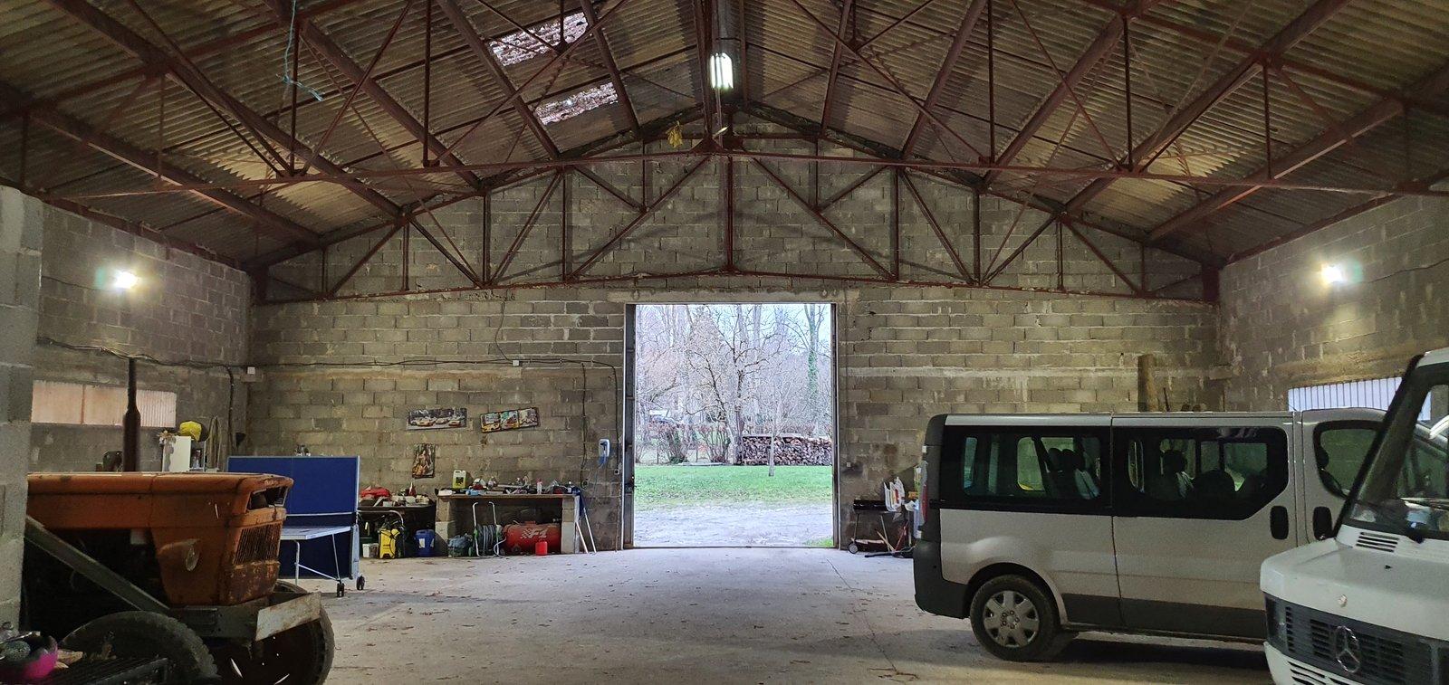 Forum : Projet couverture aménagement hangar