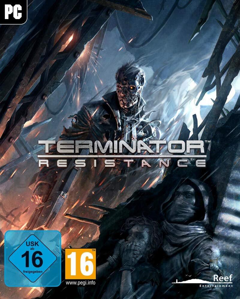 Poster for Terminator Resistance Infiltrator