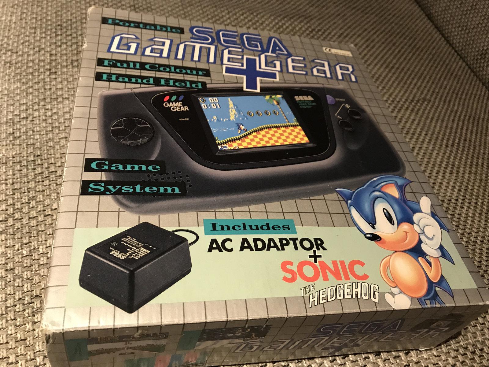 (VENDUE) Game Gear Pack Sonic Uk + Jeux + Cadeau 210105060729502045