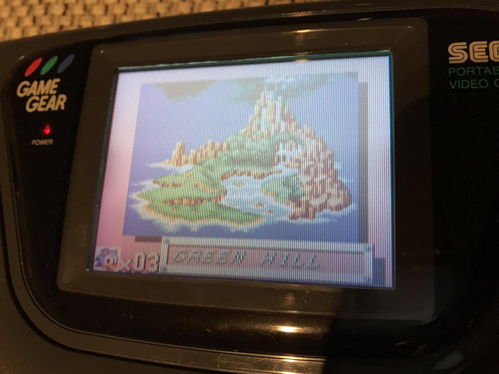 (VENDUE) Game Gear Pack Sonic Uk + Jeux + Cadeau 210105060730277908