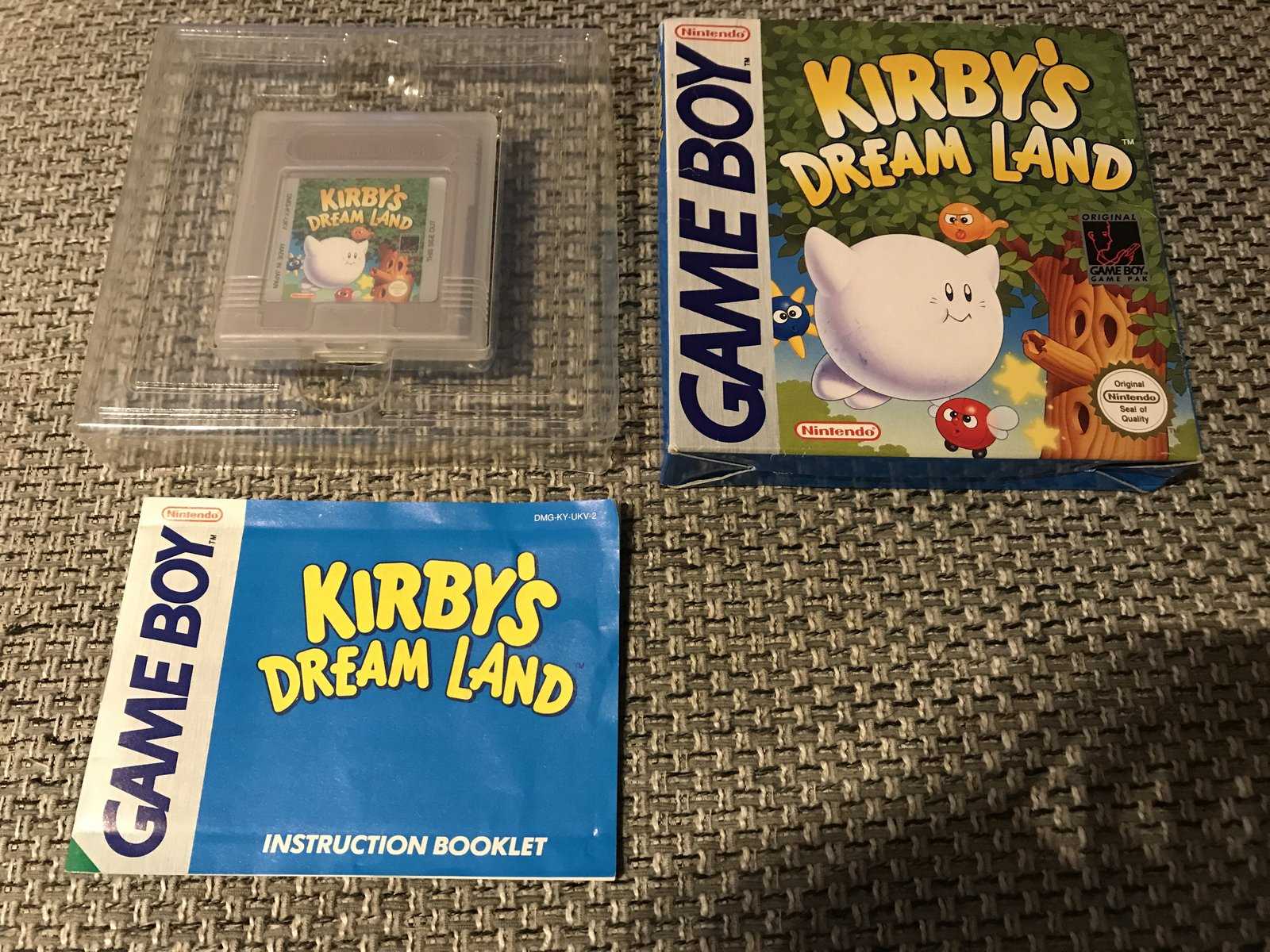 (VDS) Mystic Quest Game Boy + Kirby Dreamland 1 Game Boy 210105094650335476