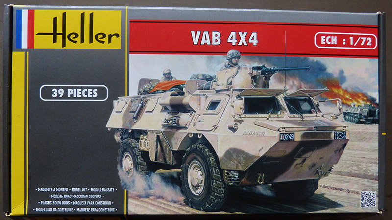 "[HELLER] SAVIEM VAB 4x4 ""Daguet"" en IRAK 1/72ème Réf 79898 210106105544683917"