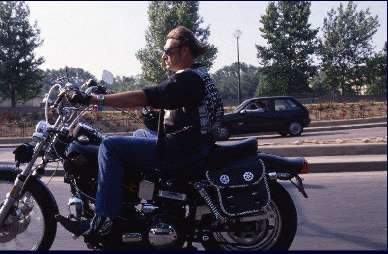 HARLEY-DAVIDSON FXWG WIDE GLIDE 85 DE JOHNNY HALLYDAY ( 1989 ) 210109045559504794