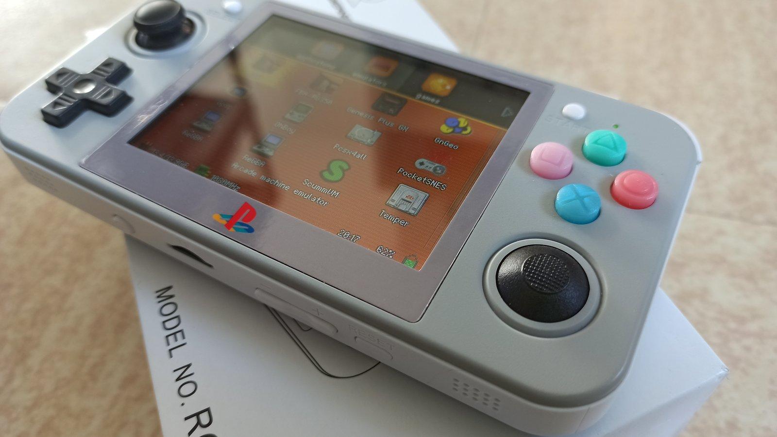 RG350 mod Sakura / Retroid Pocket 2  210110052426257758