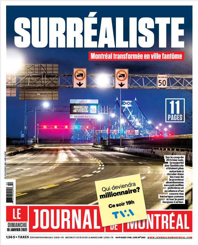 Télécharger Le Journal de Montreal 10 janvier 2021 Fr ...