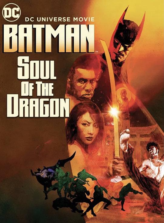 Batman: Soul of the Dragon (2020) poster image