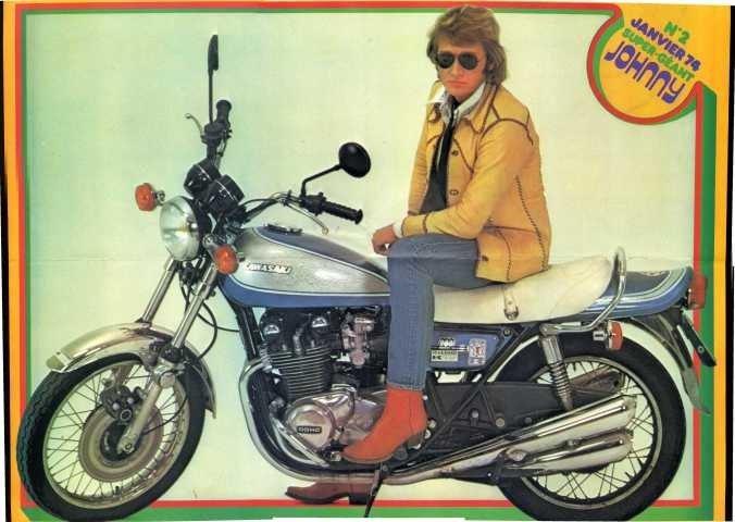 KAWASAKI 900 Z1 DE JOHNNY HALLYDAY ( 1974 ) - Page 2 210112033802716646