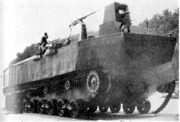 From the box - Char amphibie torpilleur japonais type 4 Ka-Tsu - Riich models - 1/72 *** Terminé en pg 2 21011310584769737