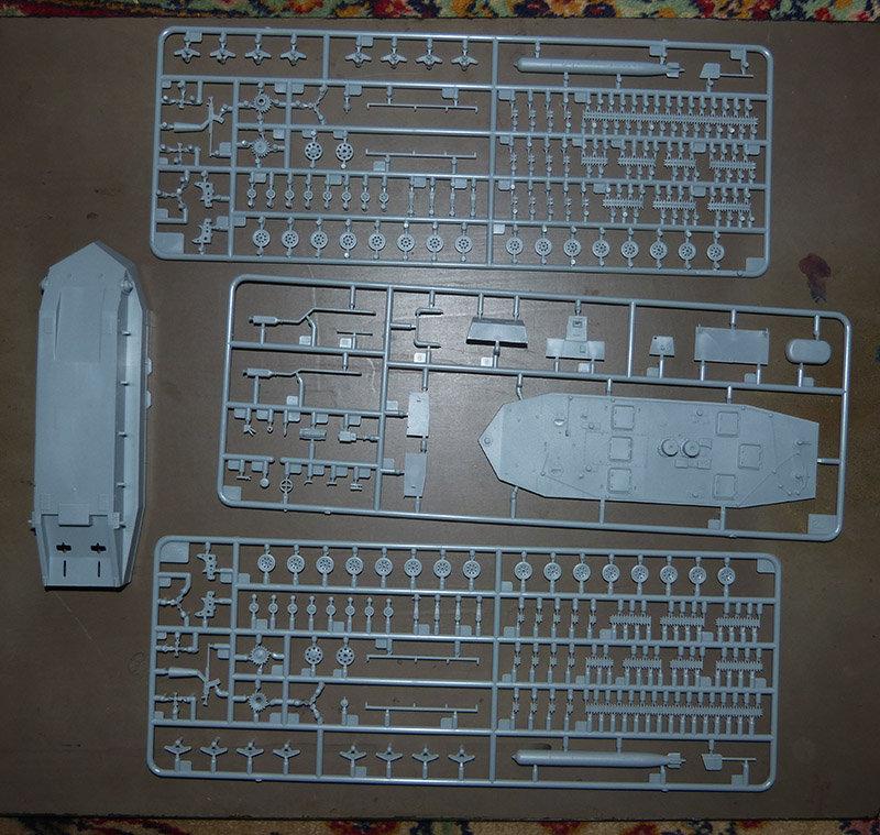 From the box - Char amphibie torpilleur japonais type 4 Ka-Tsu - Riich models - 1/72 *** Terminé en pg 2 210113105848907098