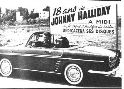 Voitures diverses utilisées par Johnny Hallyday  2101150957328681