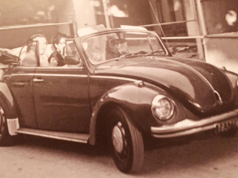 Coccinelle en 1974 à Marseille