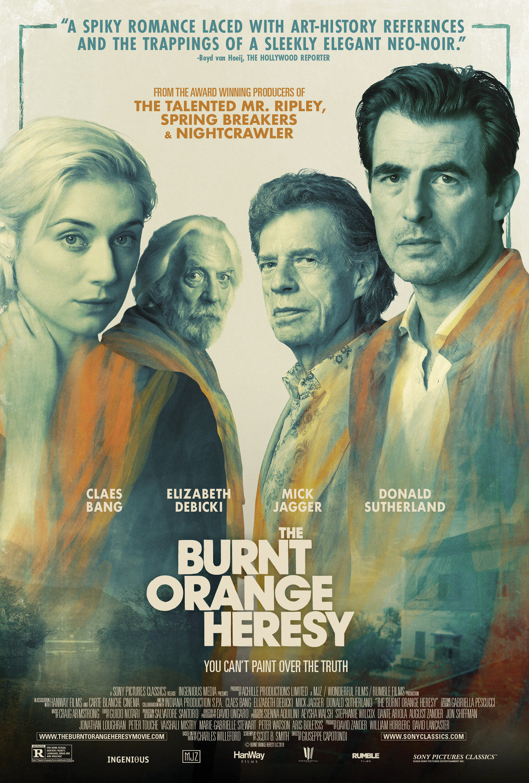 The Burnt Orange Heresy poster image