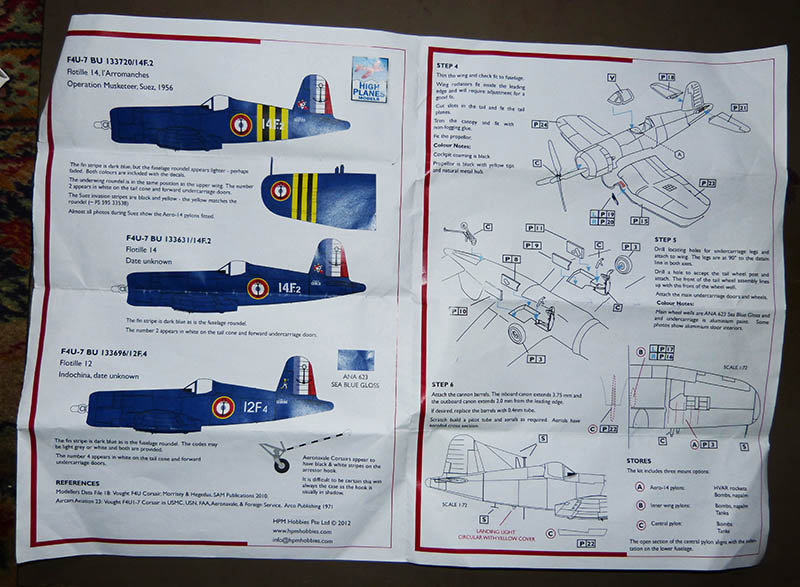 "[High Planes Models] Corsair F4U7 de ""La Royale""- Terminé. 210120115427780460"
