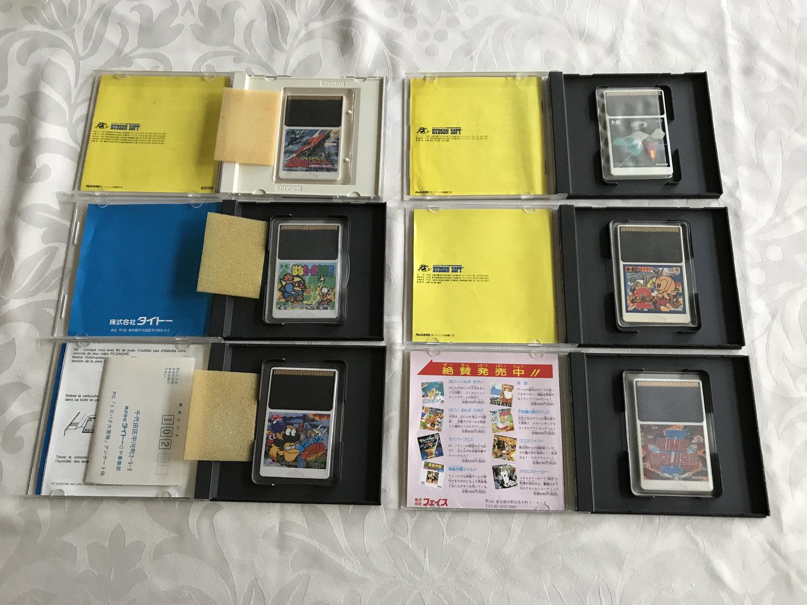 (VENDU) COREGRAFX + 6 jeux cultes + les 2 bibles PC ENGINE TBE  210121070558412875