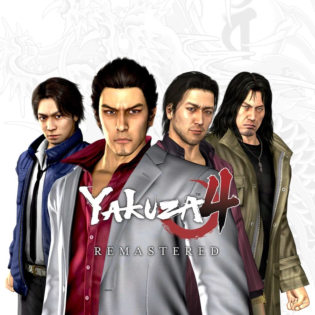 Poster for Yakuza 4 Remastered