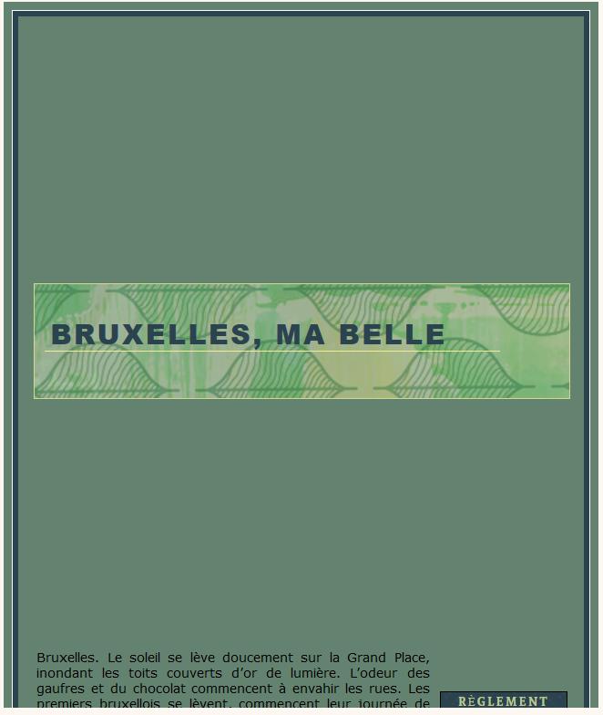 Bruxelles, ma belle (ouverture le 09/08/2020) - Page 2 210128092830225583