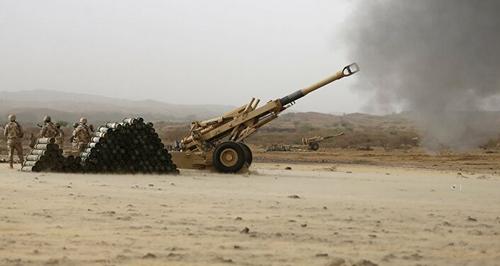 Frappes d'artillerie impériales