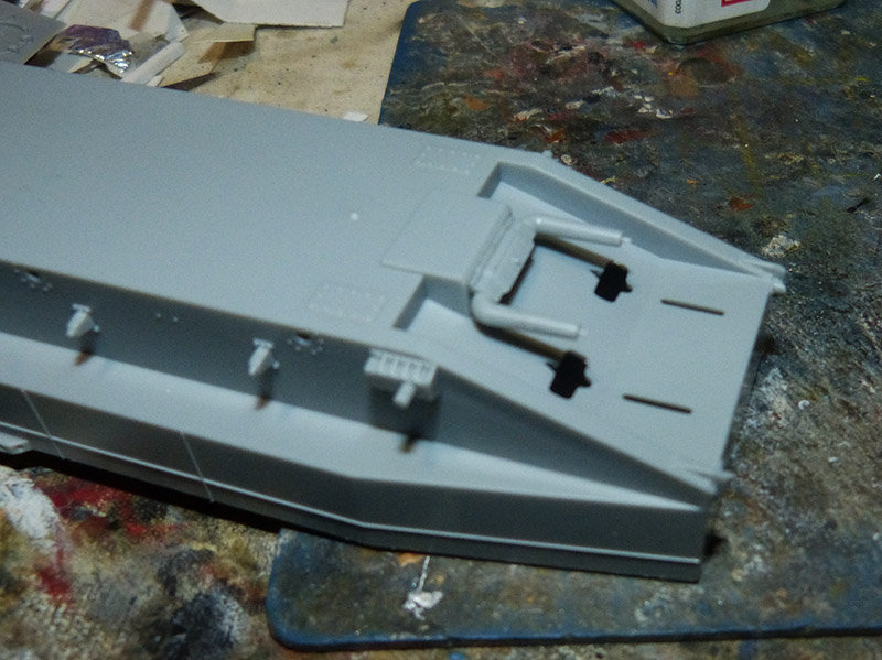 From the box - Char amphibie torpilleur japonais type 4 Ka-Tsu - Riich models - 1/72 *** Terminé en pg 2 210131114539861809