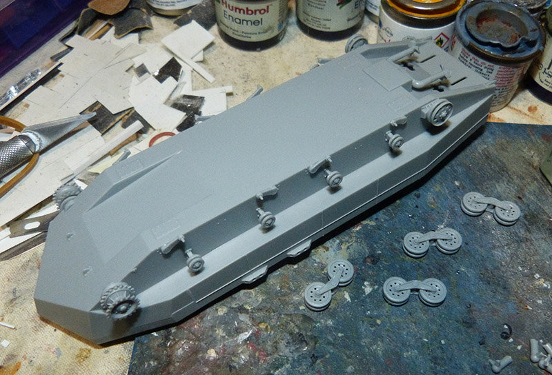 From the box - Char amphibie torpilleur japonais type 4 Ka-Tsu - Riich models - 1/72 *** Terminé en pg 2 210131114540885350
