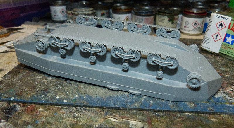 From the box - Char amphibie torpilleur japonais type 4 Ka-Tsu - Riich models - 1/72 *** Terminé en pg 2 210131114541668301