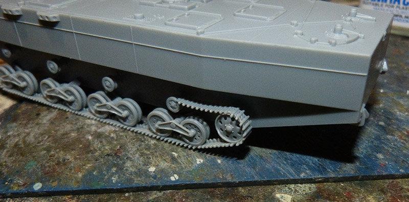 From the box - Char amphibie torpilleur japonais type 4 Ka-Tsu - Riich models - 1/72 *** Terminé en pg 2 210131114541919351