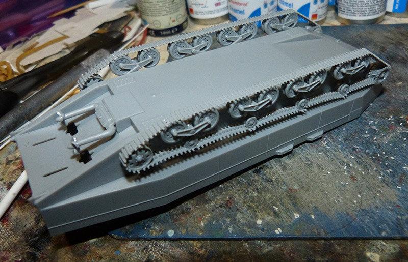 From the box - Char amphibie torpilleur japonais type 4 Ka-Tsu - Riich models - 1/72 *** Terminé en pg 2 210131114542438496
