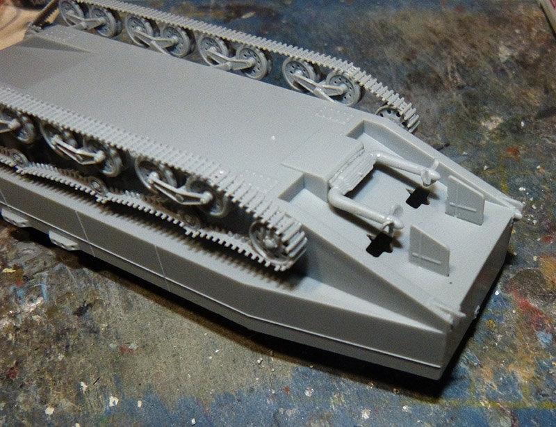 From the box - Char amphibie torpilleur japonais type 4 Ka-Tsu - Riich models - 1/72 *** Terminé en pg 2 210131114542940875