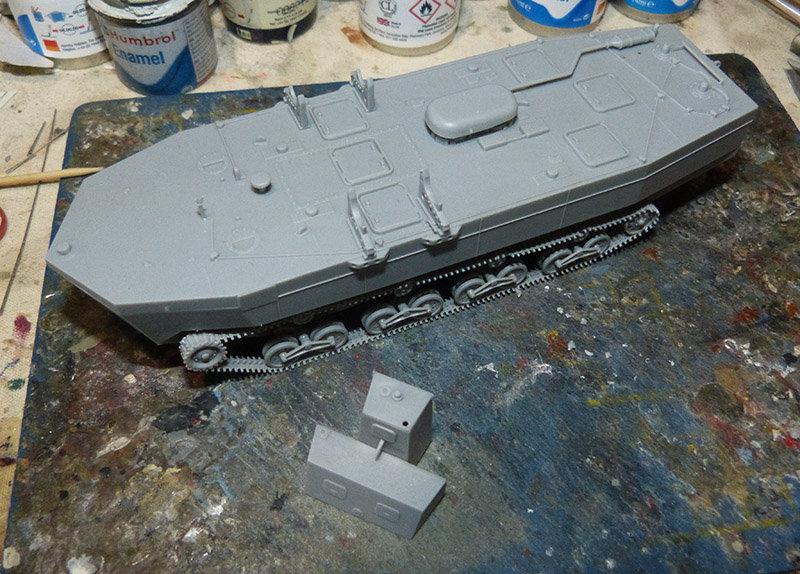 From the box - Char amphibie torpilleur japonais type 4 Ka-Tsu - Riich models - 1/72 *** Terminé en pg 2 210131114544236847