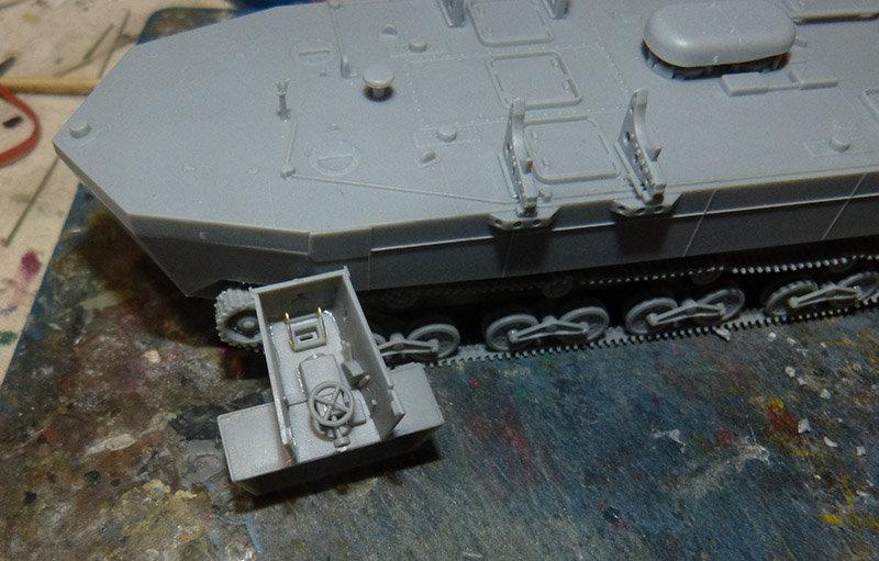 From the box - Char amphibie torpilleur japonais type 4 Ka-Tsu - Riich models - 1/72 *** Terminé en pg 2 210131114544494388