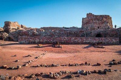 Les restes de la Feitora Fortunéenne de Balsarah